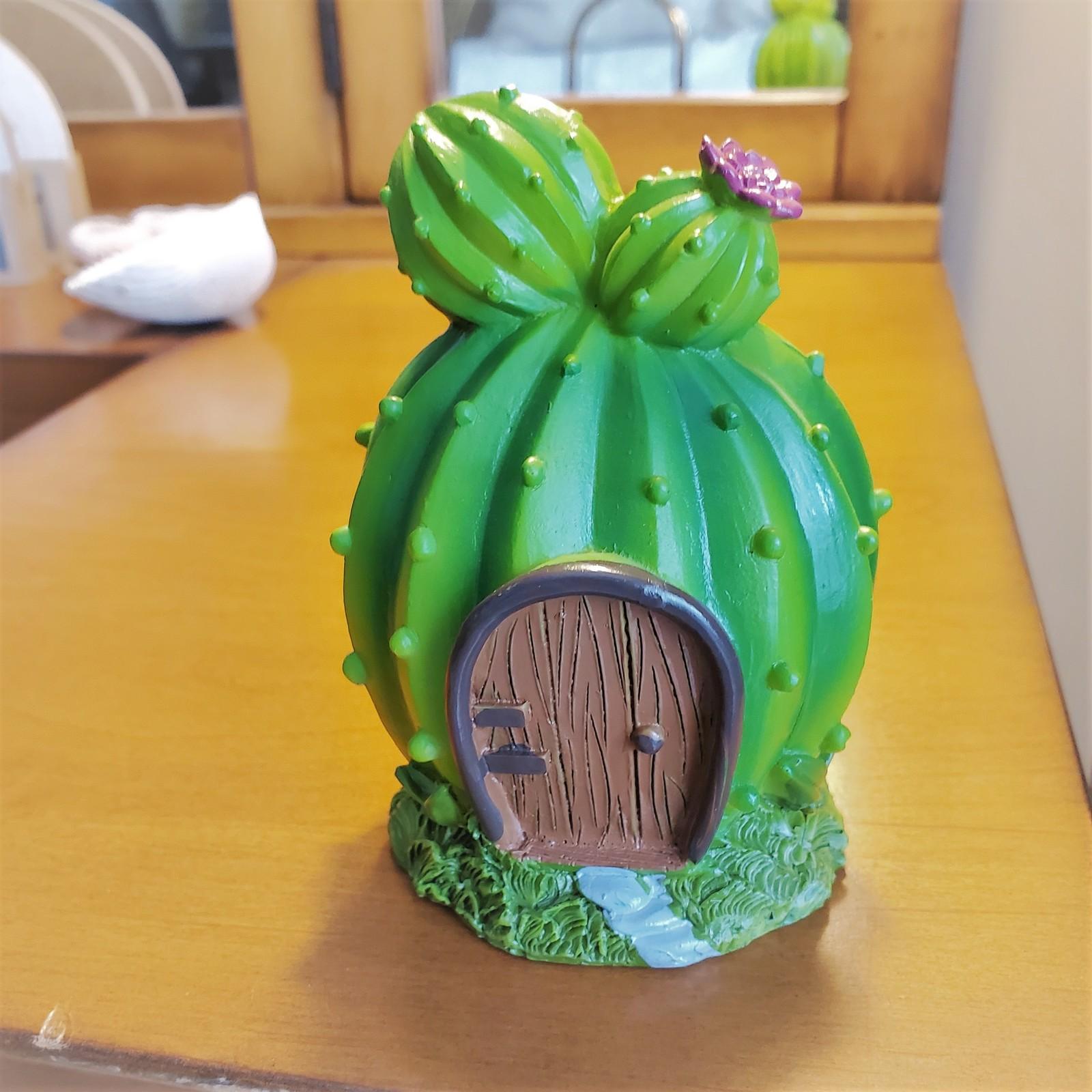 Fairyhousecactus 1