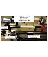 "**Gold-N-DRO** 12"" ""X"" Axis Modified Igaging Magnetic DRO - Universal Kit - $74.25"