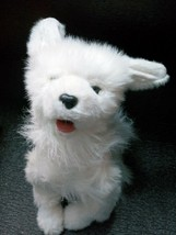 "Puppy Dog Realistic White Furry FurReal Friends 2004 Hasbro Toy 14""  toy - $27.99"