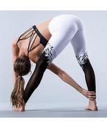 Print Patchwork Elastic Yoga Leggings - $16.99+