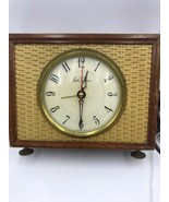Vintage Seth Thomas Wood Frame Accents Desk Shelf Clock - $27.55