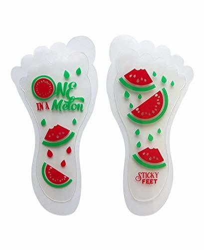 Sticky Feet - Sock and Stockings Feet Grip Stickers - One in a Melon