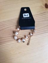 Paparazzi Bracelet(New)Gold W/ Pearls 365 - $7.69