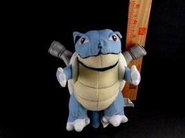 "Vintage Pokemon Go BLASTOISE 6.5"" Plush Nintendo blue stuffed Toy US Sel... - $11.87"
