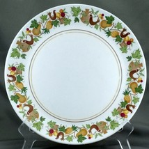 "Noritake Homecoming Dinner Plate 10.25"" White Birds Fruit Progression 9002 - $9.03"
