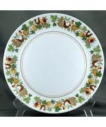 "Noritake Homecoming Dinner Plate 10.25"" White Birds Fruit Progression 9002 - $9.03"