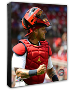 Yadier Molina 2018 St. Louis Cardinals Star - 16x20 Photo on Stretched C... - $94.95