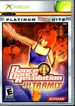 XBOX - Dance Dance Revolution Ultramix - Platinum Family Hits - $11.50