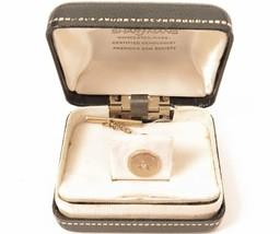 Vintage Sharfmans Jewelers MA 14K BAB Men's Yellow Gold Diamond Tie Pin*... - $193.00