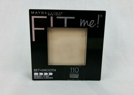Maybelline Fit Me Pressed Powder 110 Porcelain Normal To Dry Set + Smooth - $4.95