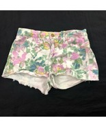 7 For All Mankind Women's Floral Shorts 23 - $24.74
