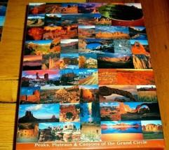 Jigsaw Puzzle 500 Pcs Canyons Peaks Plateaus AZ CO NM UT Grand Circle Co... - $14.84