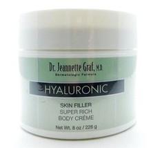 Dr. Jeannette Graf Hyaluronic Skin Filler Super Rich Body Creme 8 Oz. - $8.54