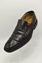 Cole Haan AIR Mens 9.5 M Black Leather Split Toe Loafer Slip on - $32.90