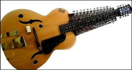 NEW CHATURANGUI MOHAN VEENA SLIDE GUITAR WITH SIDE TARAF & SIDE CHIKARI ... - $899.99