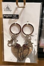 Disney Park Minnie Mouse Keychain Set 2 Keychains New with Tag - $29.09
