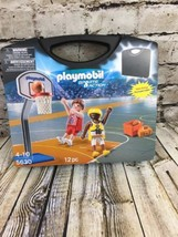 PLAYMOBIL 5630 Basketball Hoop & Sports Action ~ Carrying Case NEW Sealed - $26.18