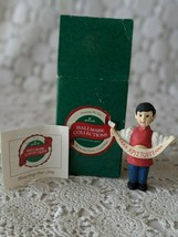 Hallmark Collections Sharing The Joy Boy In Red Tunic Greek Wish Ornament - $12.60