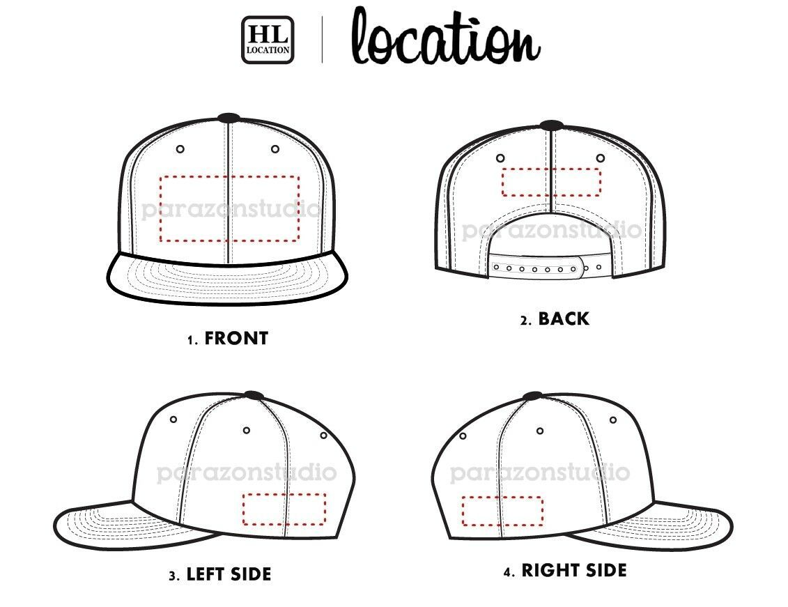 Custom Embroidered Personalized Yupoong Flat Bill Snapback Cap Hat 6089M image 6