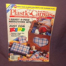 Plastic Canvas and More Magazine August 1993 27 Projects Rainbow Magic Trio - $4.95