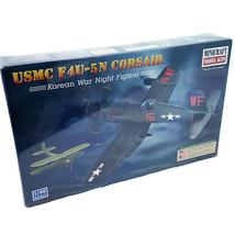 Minicraft Model Kit USMC F4U-5N Corsair 1/48 Korean War Night Fighter 11653 - $19.88