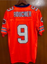 Bobby Boucher #9 The Waterboy Football Jersey Adam Sandler Orange - $23.99