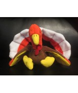 Ty Beanie Baby Gobbles 4th Generation Hang Tag/5th Generation TT No Stam... - $11.57