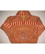 Texas Longhorns Basketball NCAA Big 12 Orange Pullover Nylon Jacket Hood... - $98.01