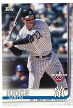 2019 Topps Opening Day #15 Aaron Judge > New York Yankees - $1.15