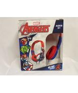 NEW SEALED Marvel Avengers Kid Safe Headphones - $14.84