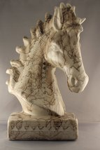 Horse Head Sculpture - $396.00