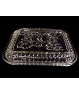 Federal Glass Fruits Clear Oblong Refrigerator ... - $10.95