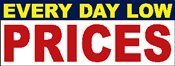 2x6 Everyday Low Prices Digital Banner