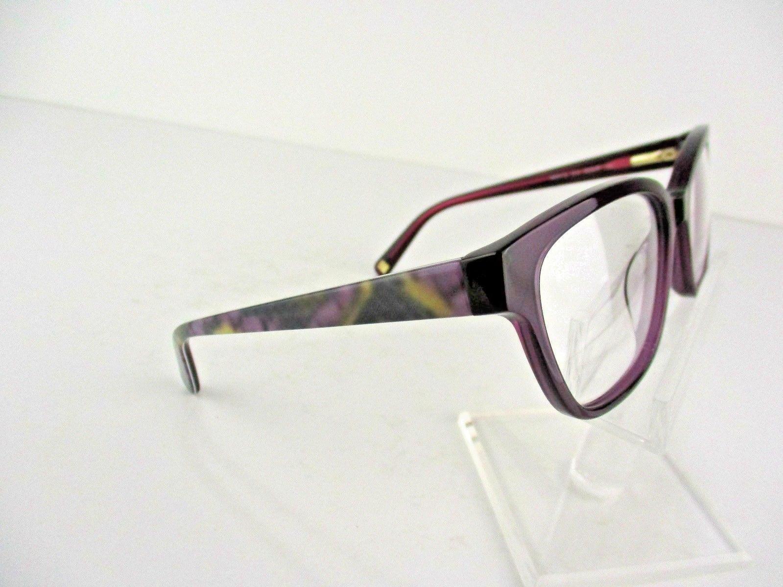 Nine West NW 5113 (515) Plum Crystal 52 x 17 135 mm Eyeglass Frames