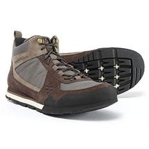 Merrell Burnt Rock Tura Rugged Casual Mid Hiking Boots (8) Woodland Brown - £64.70 GBP