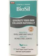 (New) Natural Factors Biosil Beautiful Skin Hair & Nails, 60 Small Caps - $30.68