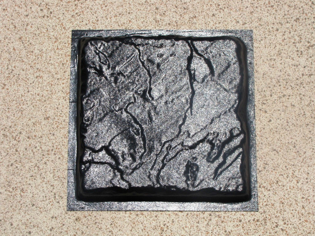 10 Concrete Molds 9x9x1.5 Make Garden Cobblestone Pavers Floor Wall Tiles Patio