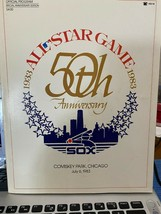 1983 50th All-Star Game Official  Anniversary Program/with autograph - $108.90