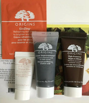 Origins High Potency NIGHT-A-MINS Mineral, Clear Improvement Charcoal Mask Set - $13.88