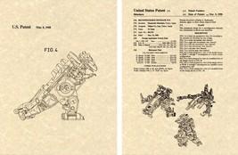 Transformers STARSCREAM US Patent Art Print READY TO FRAME 1986 Decepticon