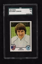 """1982 PANINI ITALIAN #319 """"JIMMY CONNORS"""" FIRST ROOKIE CARD- SGC 84 (NM) - $108.90"""