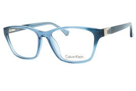 New Calvin Klein Eyeglasses CK5891 404  Full Rim Plastic RX Light blue 54-16-140 - $86.11