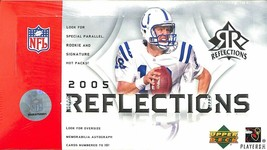 2005 UD REFLECTIONS FOOTBALL HOBBY BOX Aaron Rodgers Auto Rookie Upper D... - $799.99