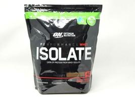 Optimum Nutrition Performance Whey Isolate Chocolate Powder 3.35 lb  EXP... - $65.33