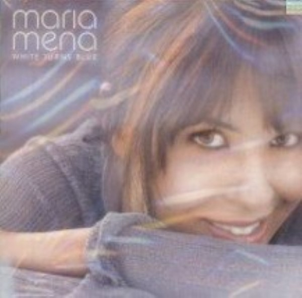 White Turns Blue by Maria Mena Cd