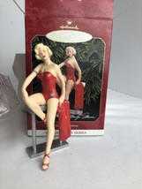 Hallmark Keepsake Marilyn Monroe 1999 Collectors Series Christmas Orname... - $14.80