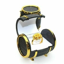 Jewelry Box Retro Beer Barrel Bracelets Necklace Storage Organizer Holde... - $9.89