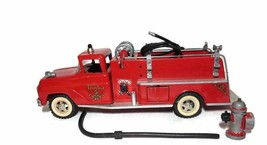 VINTAGE 1960`s Pumper Tonka Fire Truck NO.5 With Fire Hydrant - $191.09