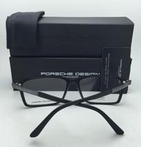New PORSCHE DESIGN Eyeglasses P'8260 B 56-15 140 Matte Clear Crystal Frames