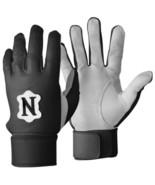 Neumann LB Pro Linebacker Football Gloves Padded Tack-field NCAA Black o... - $29.99
